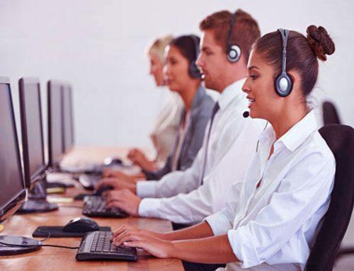 Le centre de contact au service du support client des services publics